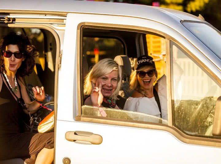 Transporte compartido y sostenible para disfrutar del festival